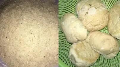 """El menú está servido: Arroz con gorgojos, harina con gusanos y pan """"reciclado"""""""