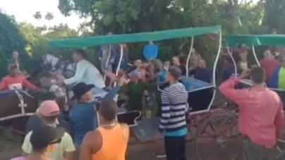 Caballos forzados a arrastrar coches: nuevo caso de maltrato animal en Cuba