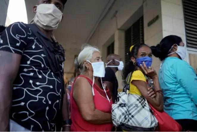 Cuba reporta 893 casos positivos de coronavirus y dos nuevas muertes
