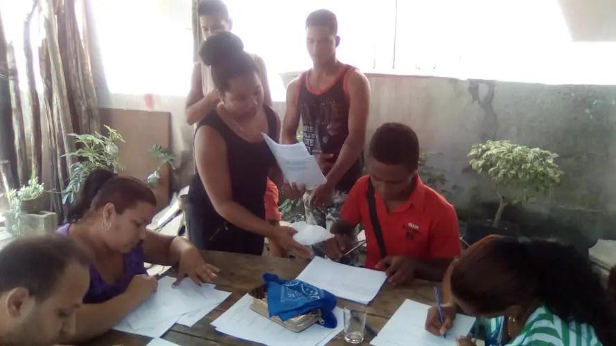 Un taller de Aulas Abiertas celebrado en Cuba