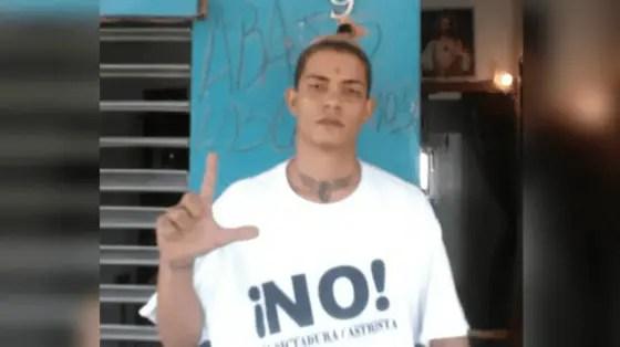 Trasladan a prisión de máximo rigor al preso político Didier Almagro Toledo