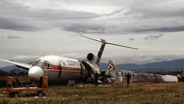 cuba cubana aviación accidentes vuelo vuelos aéreo aéreos