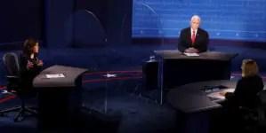 China censura críticas que le hizo Pence durante debate vicepresidencial