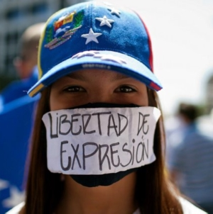 """Ya no existe libertad de prensa ni de expresión en Venezuela"""