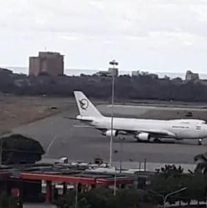 """Aterriza en Venezuela avión iraní incluido en """"lista negra"""" de EE.UU."""