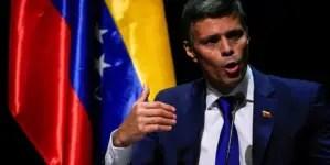 """Leopoldo López pide unidad para sacar al """"asesino de Maduro"""" de Venezuela"""