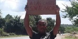 Roilán Álvarez Rensoler cumple 23 días en huelga de hambre