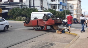 Accidente, Moscovich, Camioneta, Vedado