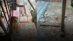 Se empezó a caer: Derrumbe anunciado en el edificio de Caridad Caraballo