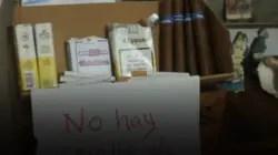Los cigarros, otro producto desaparecido de la red minorista
