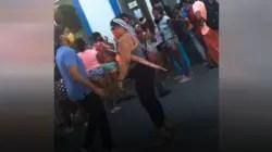 """""""¡Engañando al pueblo!"""": Santiagueros denuncian acaparamiento en una tienda estatal"""