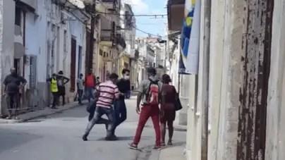 Actos de repudio y detenciones marcan sábado represivo en La Habana