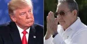 Trump promete continuar su política de sanciones a Cuba si es reelegido