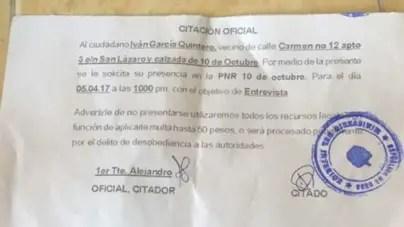 ¿Qué hacer si me citan?: consejos para enfrentar a la policía política en Cuba