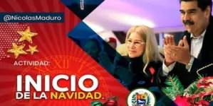 """Maduro """"adelanta"""" la Navidad en Venezuela"""