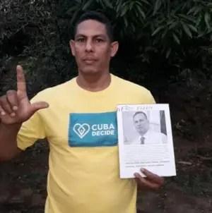 Condenan a diez meses de prisión al opositor Yordanys Labrada