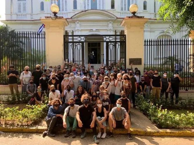 artistas MINCULT Cuba