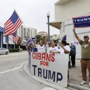 """""""Atraídos por matones"""": VP de CNN sobre cubanos que votaron por Trump"""