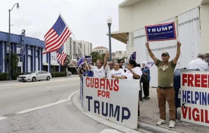 Mayoría cubano-estadounidense se opone a normalizar relaciones con el régimen