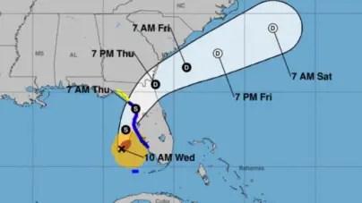 Eta vuelve a ser huracán y atravesará el centro de Florida