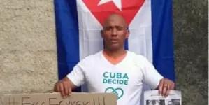 Régimen excarcela a preso político Maykel Herrera Bones