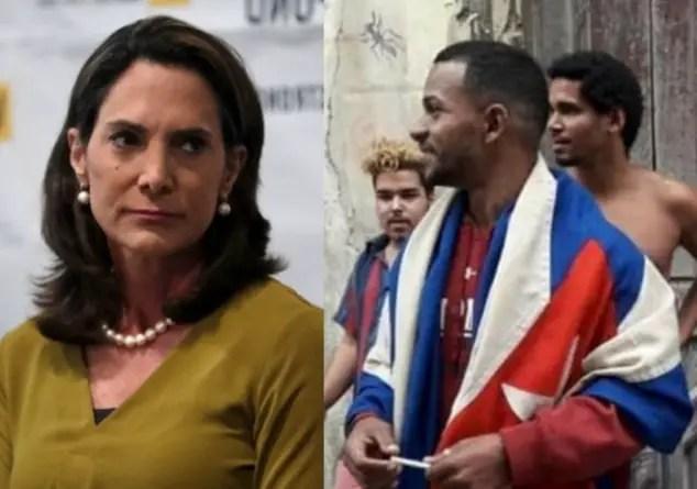 María Elvira Salazar denuncia continuo acoso al Movimiento San Isidro