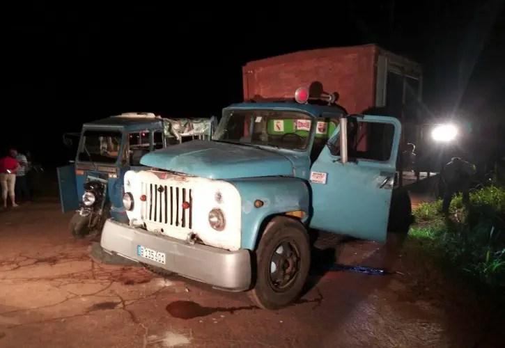 accidente tránsito Cuba