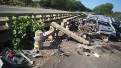 Cuatro muertos por accidente de tránsito en autopista nacional de Cuba