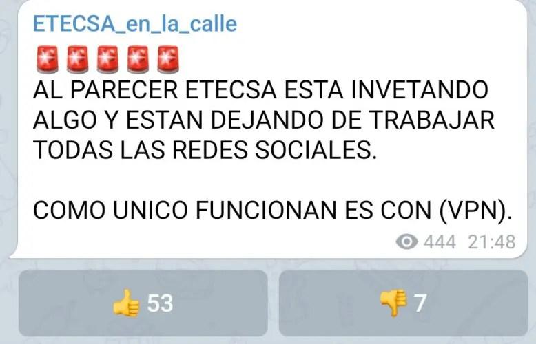 redes sociales Cuba