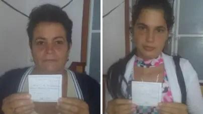 Multas de 2 000 pesos para Damas de Blanco que protestaron en Matanzas