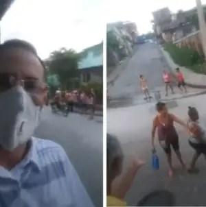 José Daniel Ferrer se enfrenta a cederistas que acosaban a una familia