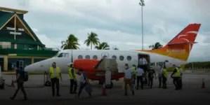 Aeropuerto de Holguín reinicia operaciones con vuelo desde Haití