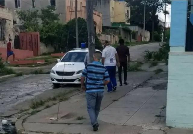 Detienen en La Habana a Luis Manuel Otero e Iliana Hernández