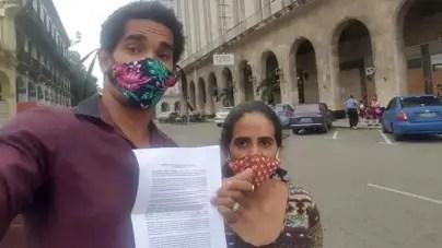 Amnistía Internacional exige libertad para Luis Manuel Otero y Anamely Ramos