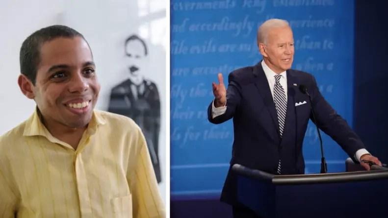 """""""Huele a azufre"""": Yusuam Palacios reacciona a triunfo de Joe Biden en EE.UU."""