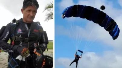 Muere cubano en Florida tras no abrirse su paracaídas durante un salto