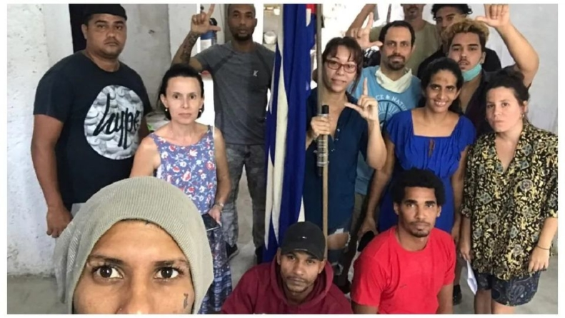 Urgen al gobierno cubano a preservar la vida de huelguistas en San Isidro