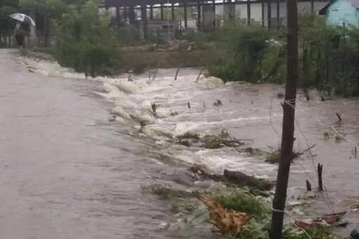 Decretan Fase de Alarma por intensas lluvias en Villa Clara y Sancti Spíritus