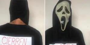 El #HalloweenDeProtesta de Oscar Casanella