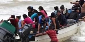 Suben a 23 los venezolanos ahogados por naufragio este fin de semana