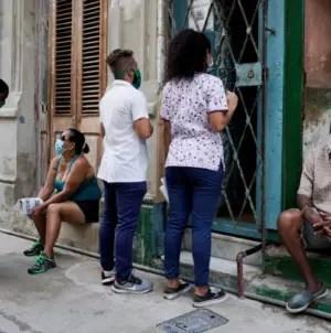 Cuba supera los 100 casos de COVID-19 por quinto día consecutivo