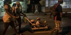 Cubanos peregrinan al El Rincón para pedir salud y prosperidad a San Lázaro
