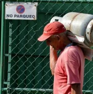 Precio del gas licuado aumentará a 213 CUP a partir del 2 de enero