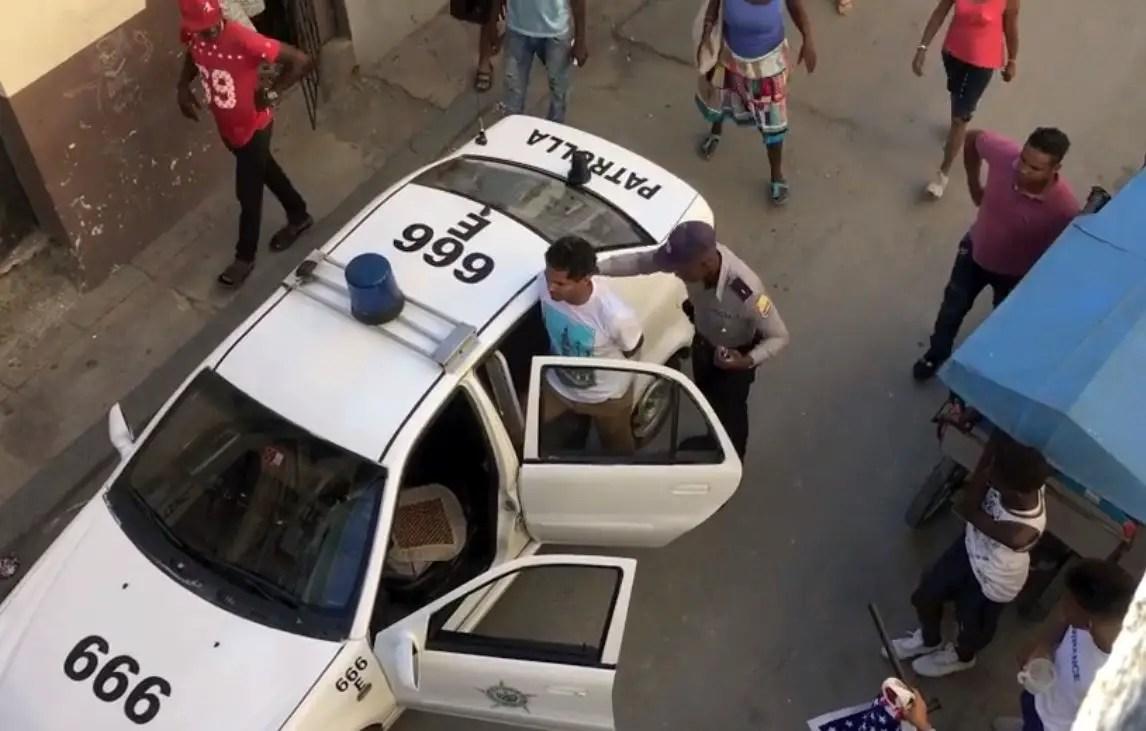 cuba represión mincult MSI movimiento san isidro luis manuel otero alcántara lmoa detención represión