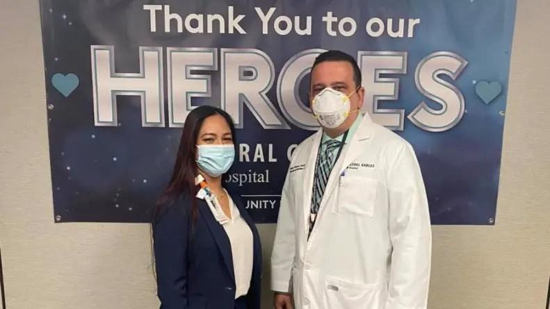 Enfermero cubano recibe en Miami distinción de Héroe del Año