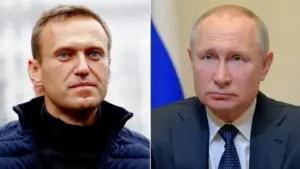 Alexéi Navalny, Vladimir Putin, Rusia