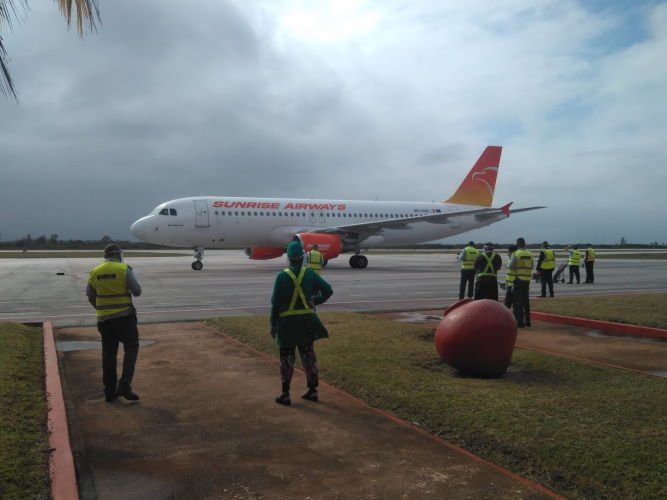 Sunrise Airways, Camagüey, Cuba vuelos turismo covid coronavirus