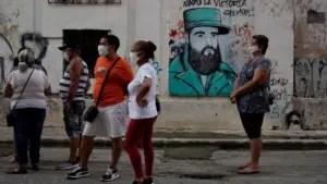 Cuba, 2020, colas, escasez