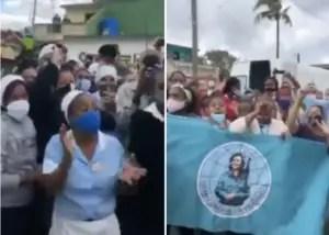 FMC, Cuba, acto de repudio