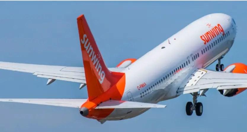 Aerolínea canadiense Sunwing restablece vuelos semanales a Cuba